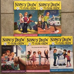 Other - Nancy Drew and the Clue Crew Book Collection